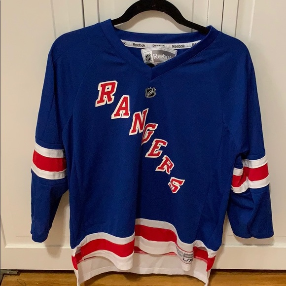 release date: a53e1 44797 New York Rangers Lundqvist Jersey - Youth L/XL